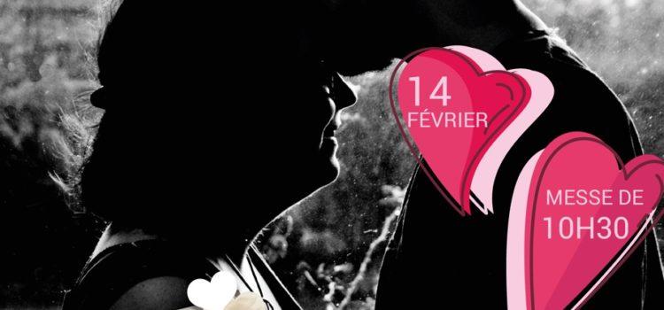 Bénédiction des amoureux dimanche 14 février