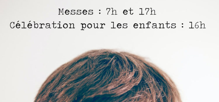 Messe des cendres, le 17 février 2021