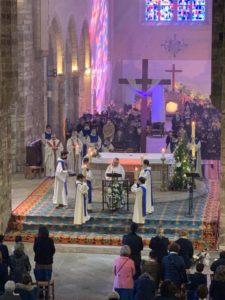 2021-04-08-photo messe de Pâques lecture Benoit Ruault