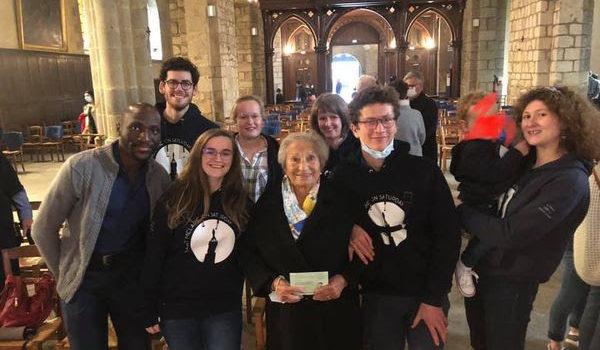 Invitée de marque et rencontre émouvante à la messe