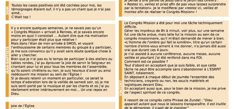 Newsletter SMOS n°2